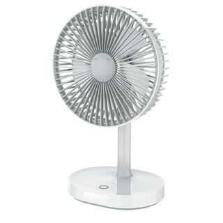 Přenosný stolní ventilátor nabíjecí 19 cm