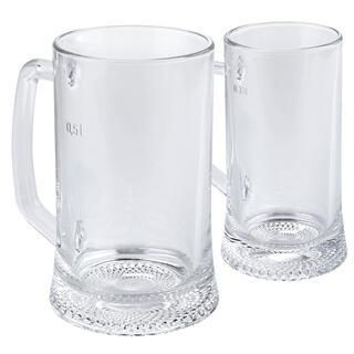 Sada pivního skla pro  páry DRESDEN