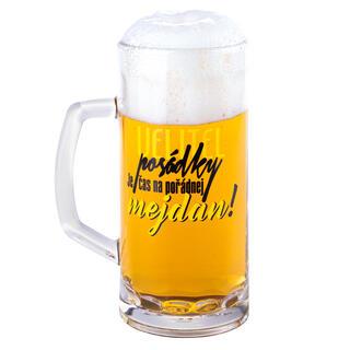 Sklenice na pivo VELITEL POSÁDKY