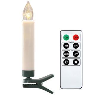 Bezdrátové LED svíčky na stomeček