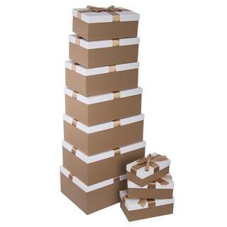 Sada dárkových krabic MAŠLE 10 ks