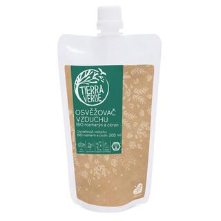Tierra Verde osvěžovač vzduchu BIO Příliv energie (rozmarýn a citrón), náhradní náplň 200 ml