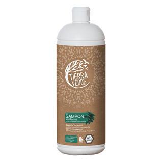 Tierra Verde šampon kopřivový s vůní rozmarýnu a pomeranče, 1 l