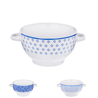 Keramická polévková miska BLUE DESIGN 0,75 l