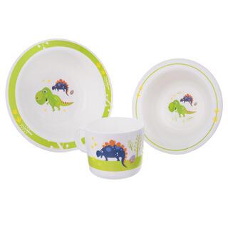 Dětská jídelní sada DINO 3 ks