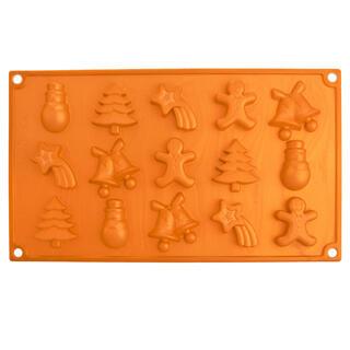 Silikonová forma na čokoládu CHRISTMAS
