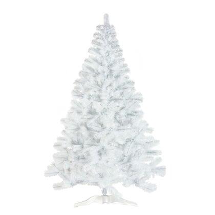 Umělý vánoční stromek bílý