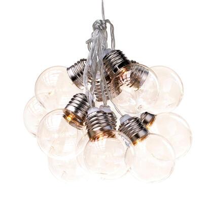 Světelný řetěz s kulatými žárovkami, 10 LED