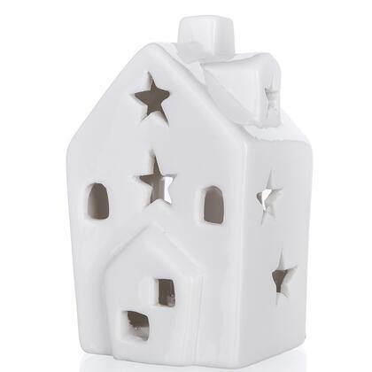 Svítící LED domeček HVĚZDIČKY, bílé světlo
