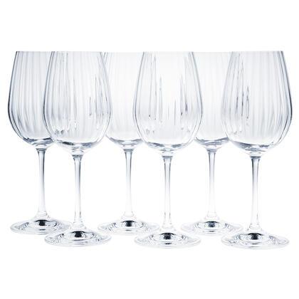 Sada sklenic na víno WATERFALL 350 ml 6 ks
