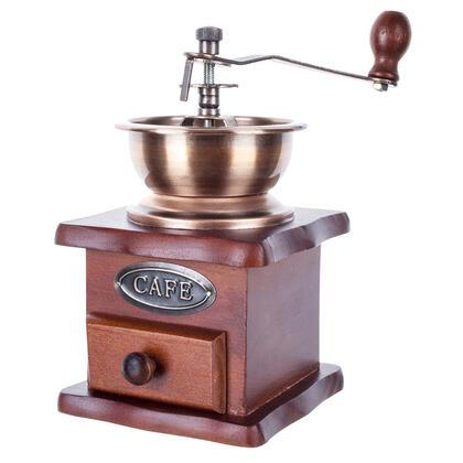 Mlýnek na zrnkovou kávu dřevěný