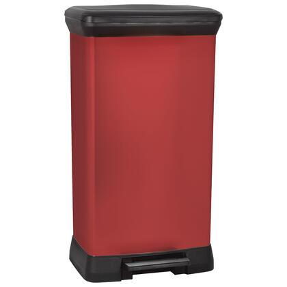 Odpadkový koš DECO BIN červený 50 l