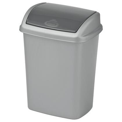 Odpadkový koš SWING stříbrný