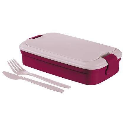 Picnic box Lunch and GO vínový 1,3 l