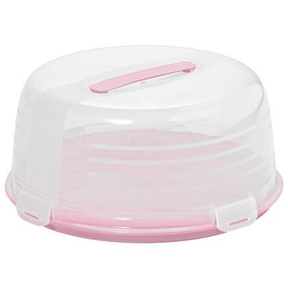 Box na dort růžový
