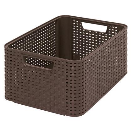 Úložný box STYLE hnědý