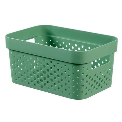 Úložný box INFINITY recyklovaný plast zelený