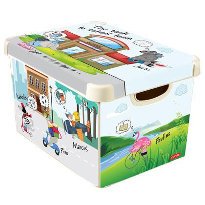Úložný box  BACK TO SCHOOL vel. L