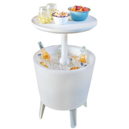 Zahradní barový stolek COOL BAR s nádobou na led a podsvícením