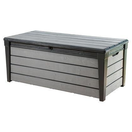 Zahradní úložný box BRUSHWOOD 454 l, antracitová + šedá