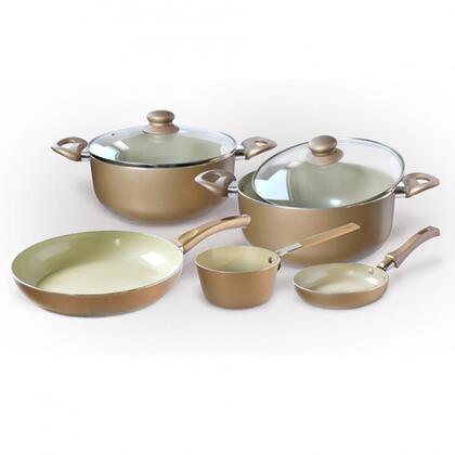 Sada keramického nádobí CHAMPAGNE 7 dílů