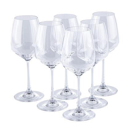 Sada sklenic na bílé  víno GISELLE 340 ml 6 ks
