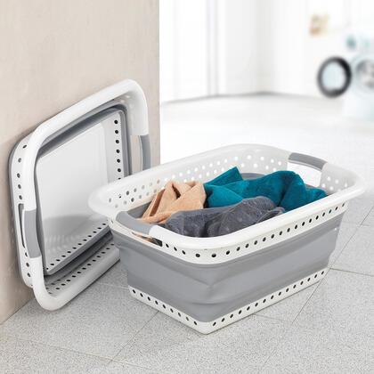 Skládací koš na čisté prádlo