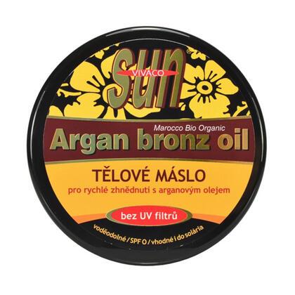 Tělové máslo s arganovým olejem SPF 0 200 ml