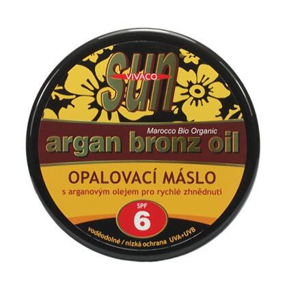 Opalovací máslo s arganovým olejem SPF 6 200 ml