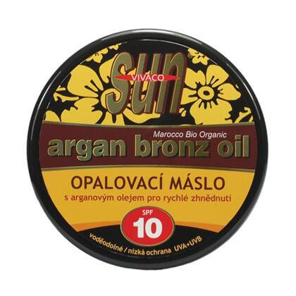 Opalovací máslo s arganovým olejem SPF 10 200 ml