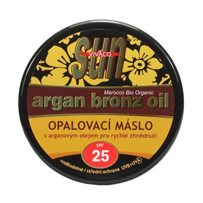 Opalovací máslo s arganovým olejem SPF 25 200 ml