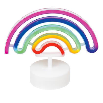 Dětská LED lampa DUHA barevné světlo