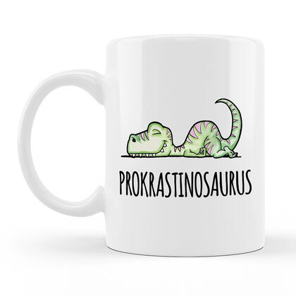 Hrnek PROKRASTINOSAURUS 300 ml