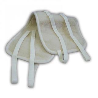 Oboustranný ledvinový pás z ovčí vlny