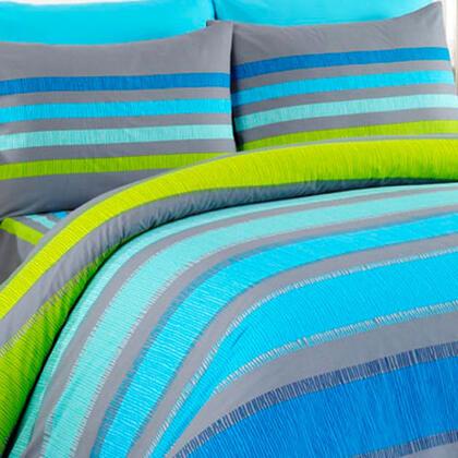 Bavlněné ložní povlečení Susan modré