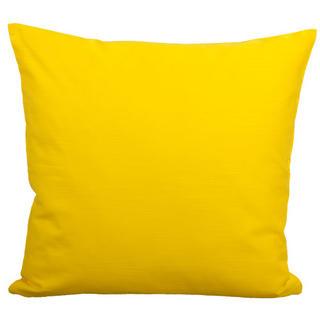 Bavlněný povlak na polštářek z kolekce Luční kvítí žlutý