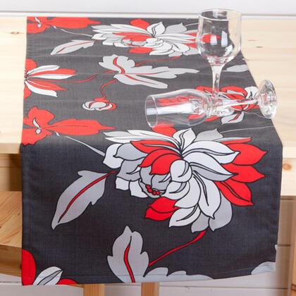 Běhoun na stůl z kolekce Moderna s květy