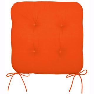 Podsedák na židli oranžový