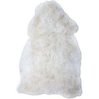 Předložka z ovčí kůže bílá