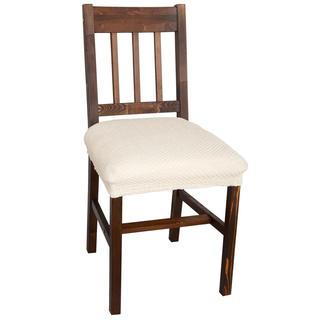 Multielastické potahy CARLA smetanové, židle 2 ks 40 x 40 cm