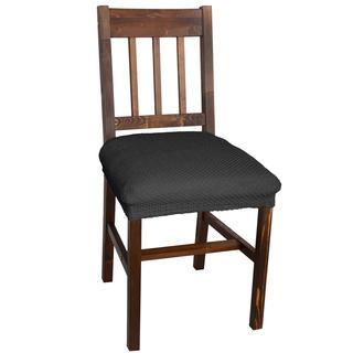 Multielastické potahy CARLA šedé židle 2 ks 40 x 40 cm