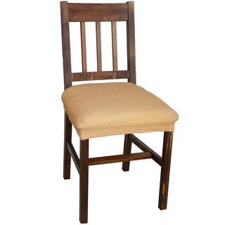 Multielastické potahy CARLA gold židle 2 ks 40 x 40 cm