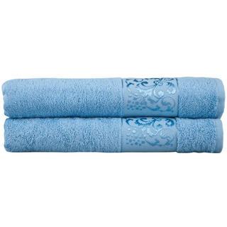 Bambusové ručníky světle modré sada 2 kusů