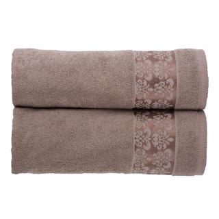 Froté ručníky Viky oříškové
