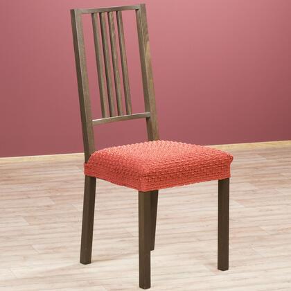 Multielastické potahy REBECA cihlové židle 2 ks 40 x 40 cm