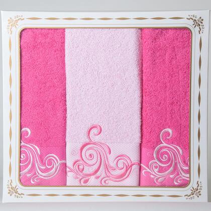 Bavlněné froté ručníky a osuška Margaret růžové