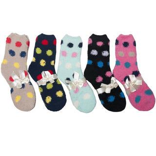 Froté ponožky na spaní 5 párů Puntík
