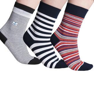 Ponožky s pružným lemem 3 páry
