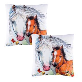 Povlak na polštářek Koně 2 ks