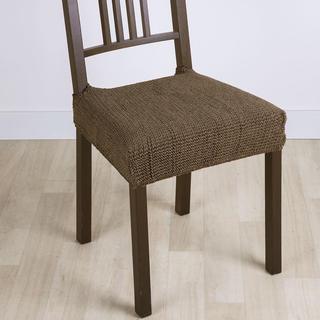 Super strečové potahy GLAMOUR tabákové židle 2 ks 40 x 40 cm